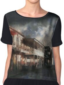 Dead End Chiffon Top