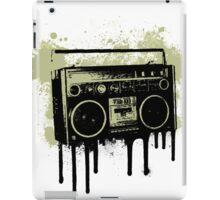 Portable Stereo Splatter iPad Case/Skin