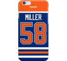 Edmonton Oilers Andrew Miller Jersey Back Phone Case iPhone Case/Skin