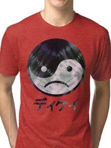 Yin Yang Face III Tri-blend T-Shirt