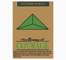The Beacon of Courage Poster 1 Kids Tee