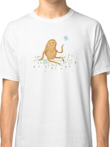 Sloth & Butterfly Classic T-Shirt