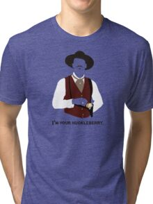 Tombstone: That's Just My Game Tri-blend T-Shirt