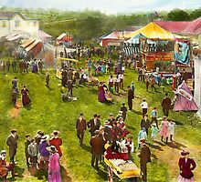 Carnival - Summer at the carnival 1900 by Mike  Savad
