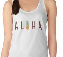 Aloha - Pineapple Women's Tank Top