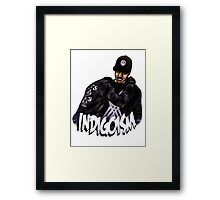Indigoism Framed Print