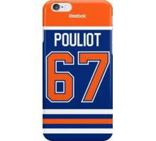Edmonton Oilers Benoit Pouliot Jersey Back Phone Case iPhone Case/Skin