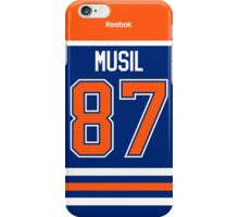 Edmonton Oilers David Musil Jersey Back Phone Case iPhone Case/Skin