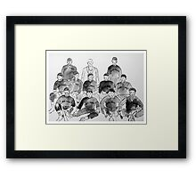 Cuban Giants Baseball Team Framed Print