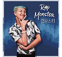 Rap Monster Oil Paint Photographic Print