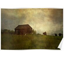 Barn and Meadow Poster