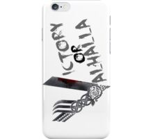 Victory or Valhalla iPhone Case/Skin