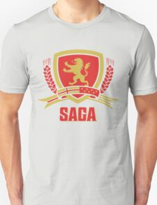 SAGA Official Merchandise BLACK Unisex T-Shirt