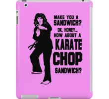 Karate Chop Sandwich iPad Case/Skin