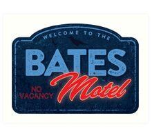 Bates Motel Art Print