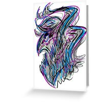 Quick Lines Creature Greeting Card