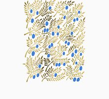 Olive Branches – Gold & Blue Unisex T-Shirt