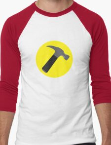 Captain Hammer Men's Baseball ¾ T-Shirt