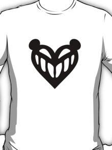 c control skull heart T-Shirt