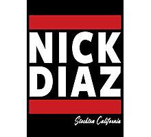 Nick Diaz Photographic Print