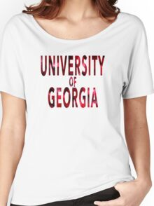 University of Georgia Women's Relaxed Fit T-Shirt