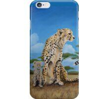 Cheetah Family iPhone Case/Skin