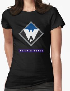 Water and Power  Womens Fitted T-Shirt