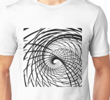 Fractal Black & White 6192016 Unisex T-Shirt