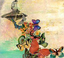 Cleaning House art print by JodiFuchsArt