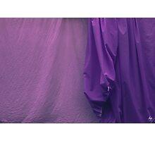 Two Sheets Abstract Purple & Fuscia Photographic Print