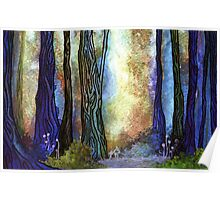 Watercolor Forest Poster