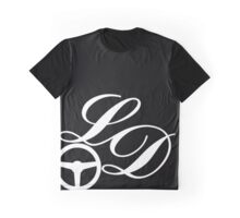 White LD Logo Graphic T-Shirt