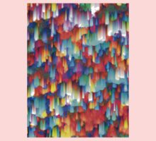 Colorful digital art splashing Baby Tee