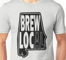 Brew Local Black print Unisex T-Shirt