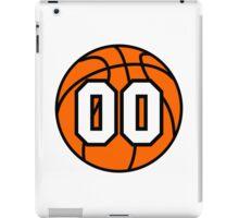Basketball 00 iPad Case/Skin