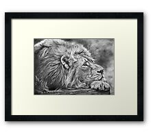 Miles Away Framed Print