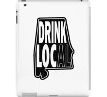 Drink Local Black iPad Case/Skin