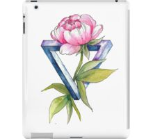 Flower Geomrtry: Peony iPad Case/Skin