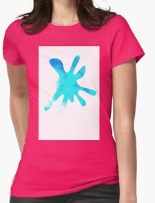 Turquoise Sky Womens Fitted T-Shirt