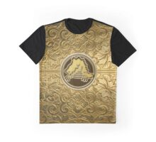 The Golden Croc Graphic T-Shirt