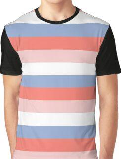 Rose Quartz + Serenity Blue - colors of 2016 ( spring / summer ) Graphic T-Shirt