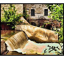 Vermillion Mill Photographic Print
