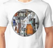 Chem Lab With Test Tubes and Retort T-Shirt