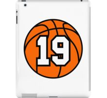 Basketball 19 iPad Case/Skin