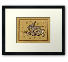 Angel with Trumpet Framed Print