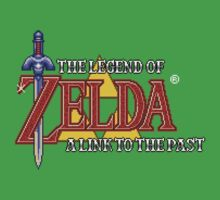 Zelda A Link To The Past (SNES) Title Screen by AvalancheJared