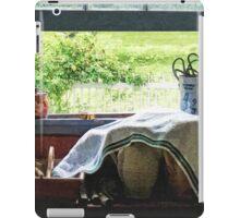 View From Kitchen Window iPad Case/Skin