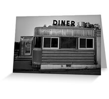 Mill Pond Diner I Greeting Card