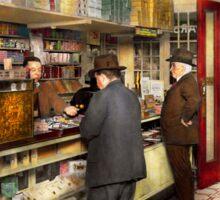 Drugstore - Exact change please 1920 Sticker