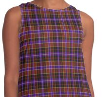 02437 City and County of San Francisco Fashion Tartan  Contrast Tank